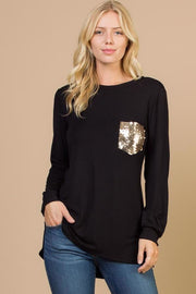 Lucky Pocket Top - Curvy