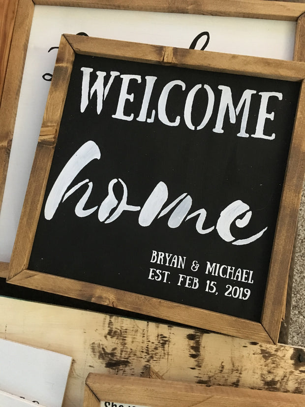 Welcome Home *customized