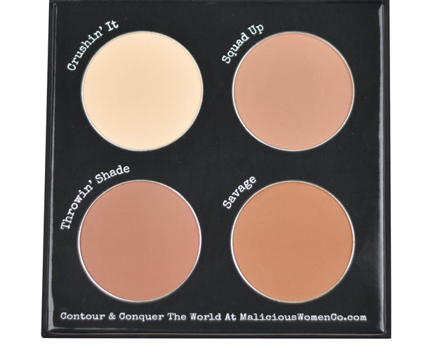 Contour To Conquer - C Powder Palette (Fair/Light)