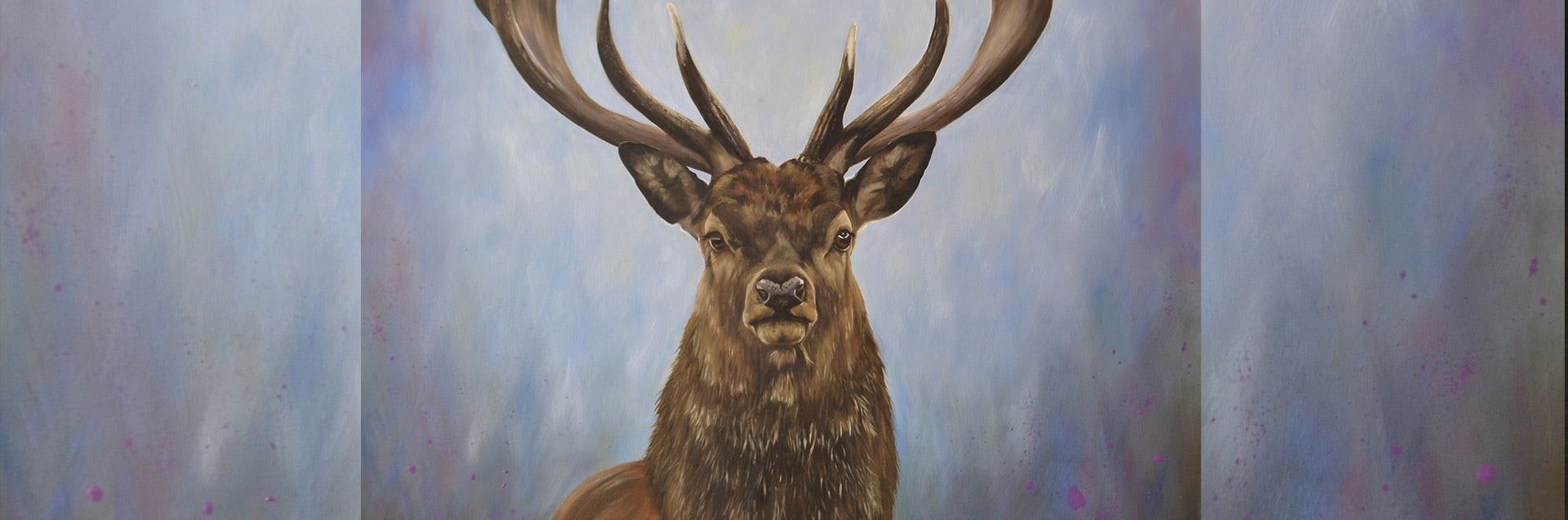 Stag painting 'The Protector'