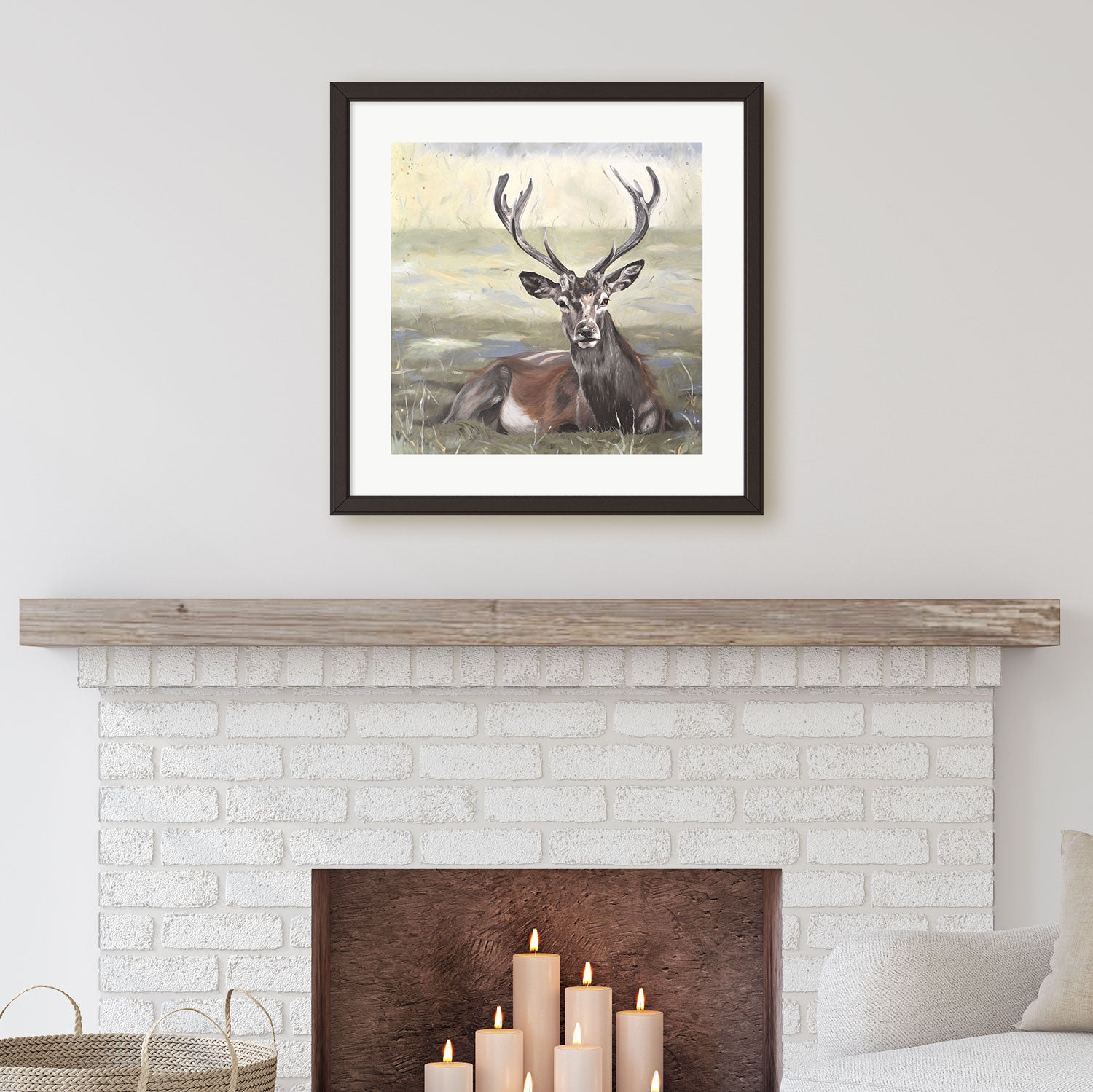 Stag prints