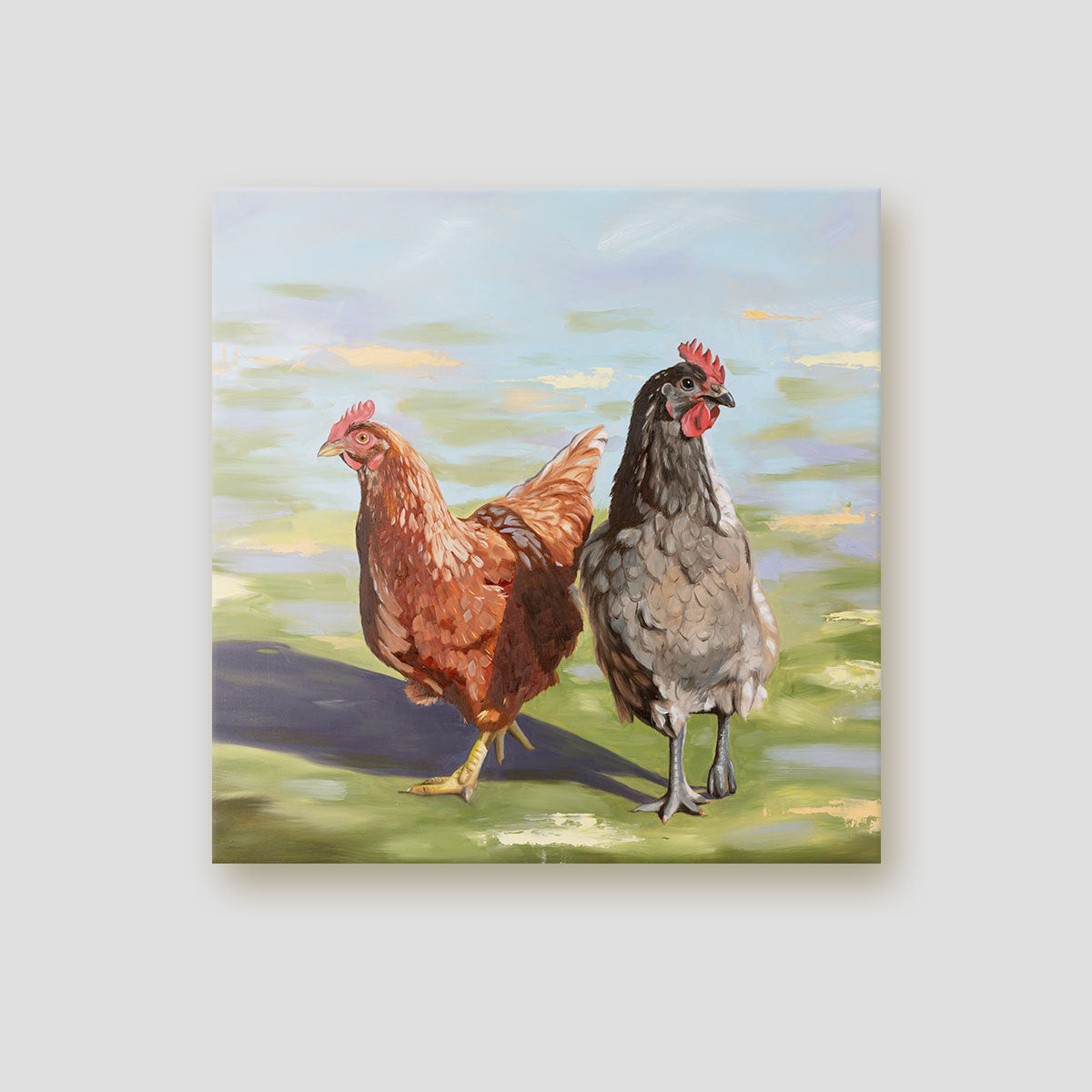 Chicken canvas