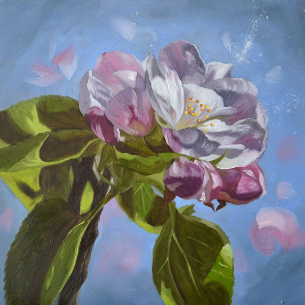 Apple blossom II - original oil painting