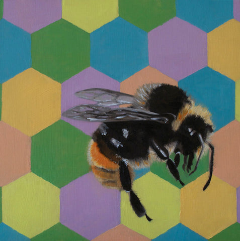 Bumble bee I - limited edition print