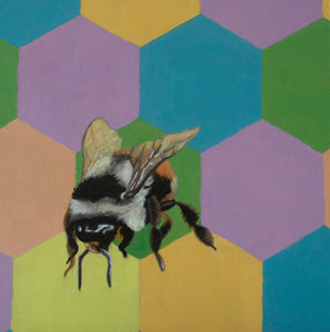 Bumble bee II - limited edition print
