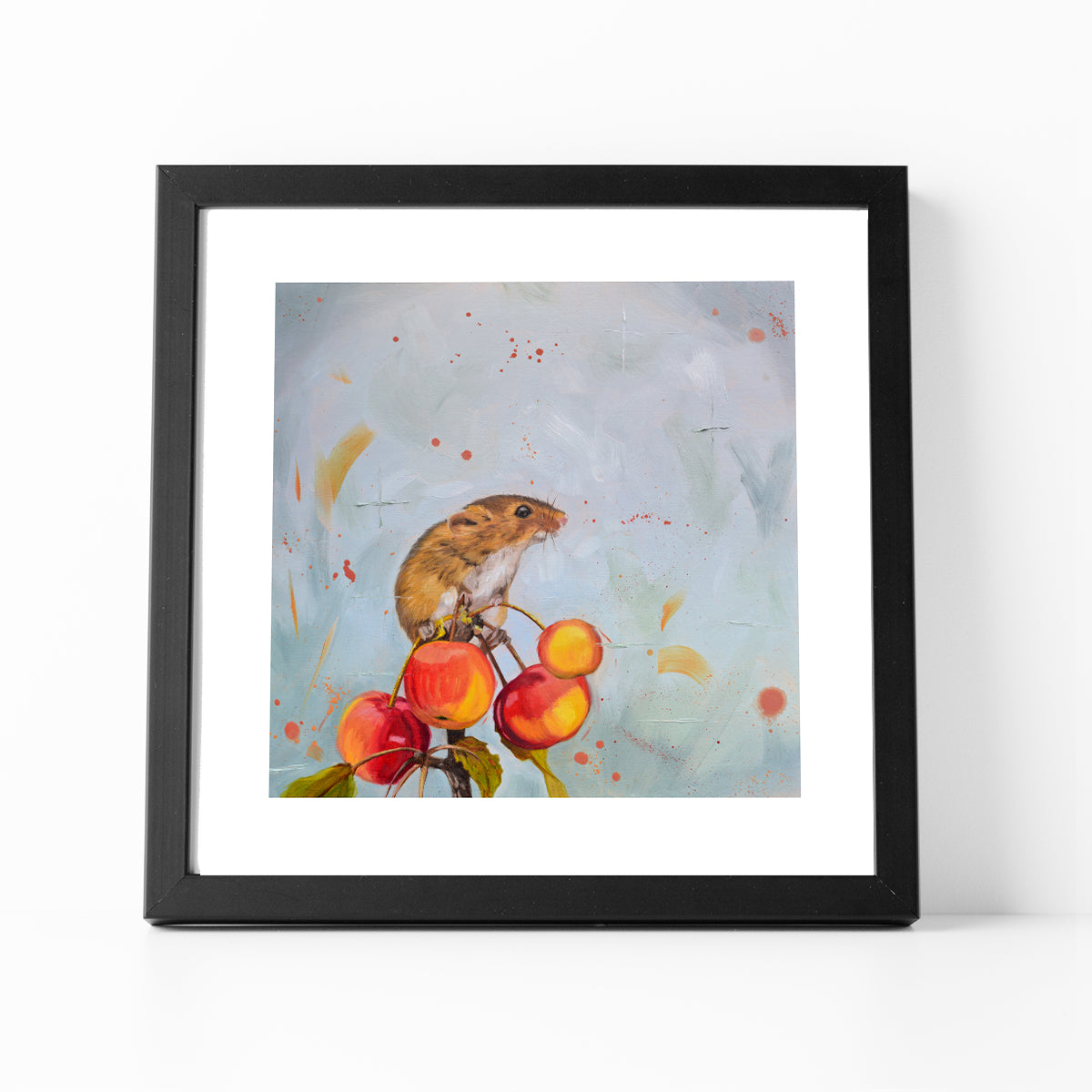 Harvest mouse print
