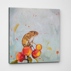 Cherry Picked Premium Canvas Print