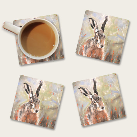 Pepper hare coaster set