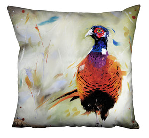 Dashing Pheasant Cushion
