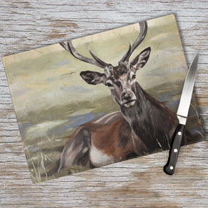Stag chopping board