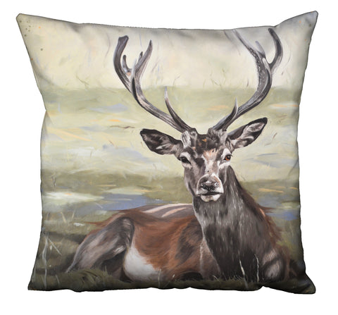 Stag cushion - dignity design