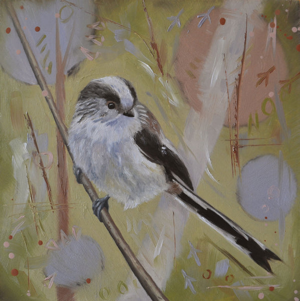 Long-tailed tit card