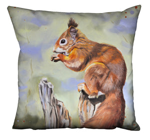 Nibbles - Squirrel Cushion