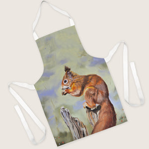 Nibbles - Red Squirrel Apron