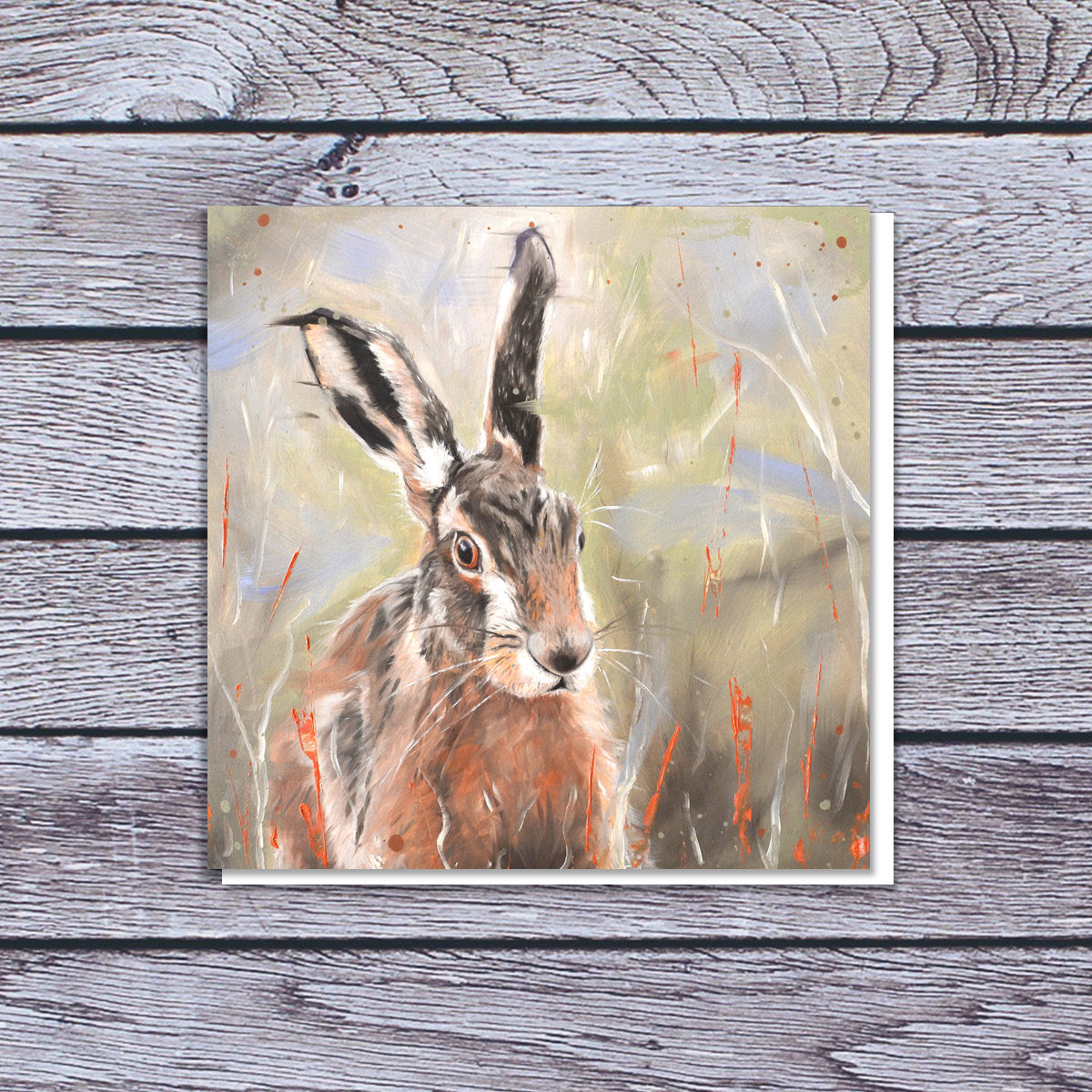 Pepper hare card