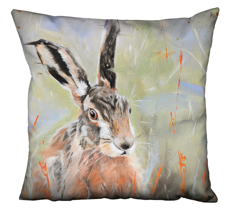 Pepper - Hare In The Long Grass Cushion