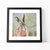 Pepper framed hare print