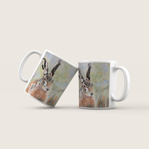 Pepper - Hare In The Long Grass Ceramic Mug