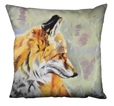 Precious - Fox In The Heather Cushion