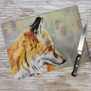 Precious - Fox In The Heather Chopping Board