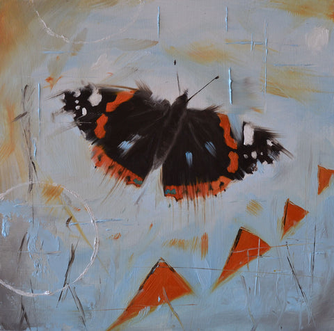 Red admiral - limited edition print