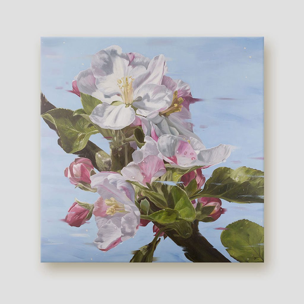 Apple blossom canvas - The Promise