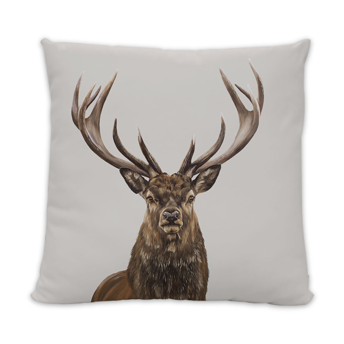 Stag Cushion - Light