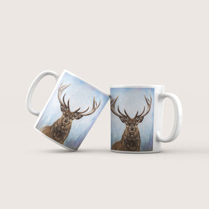 The Protector - Stag Ceramic Mug