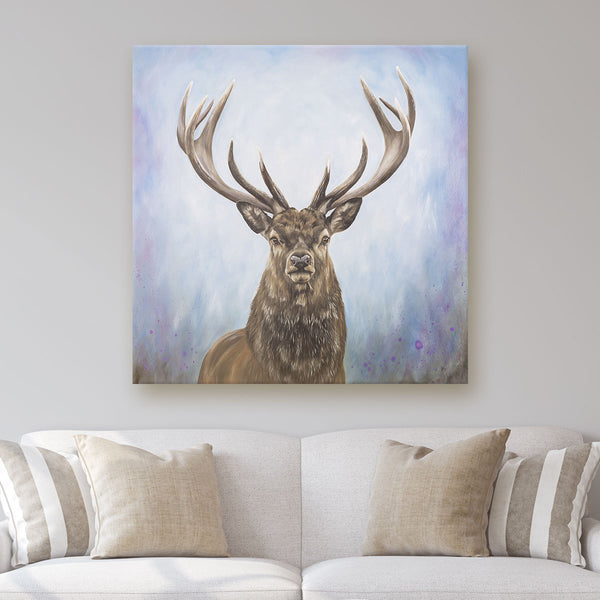Stag painting on canvas