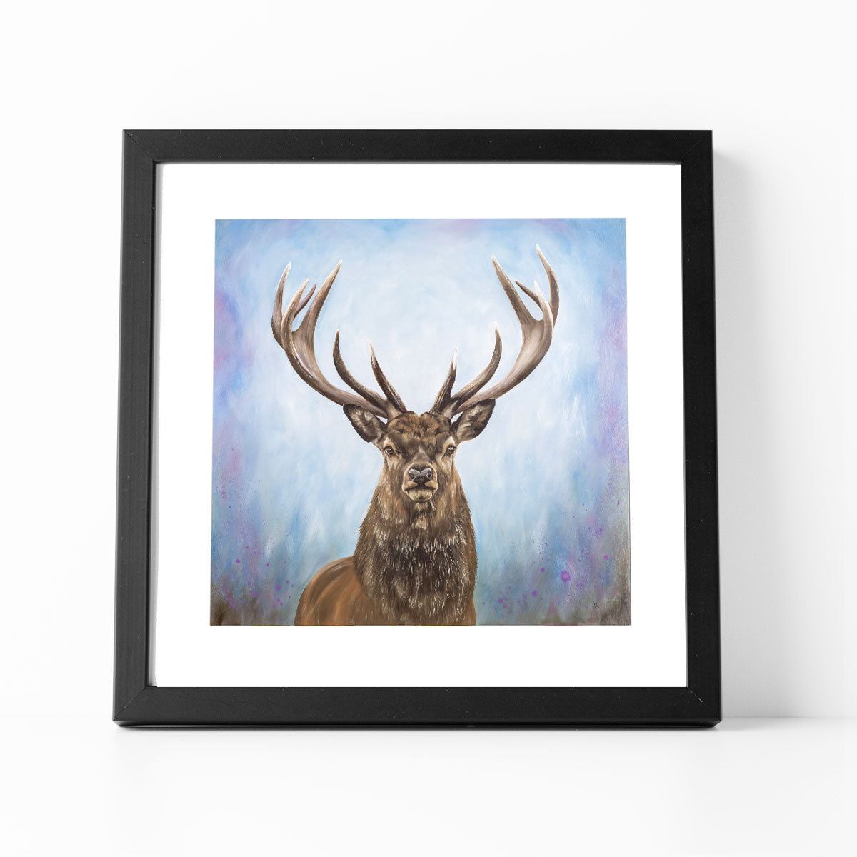 The Protector stag art print