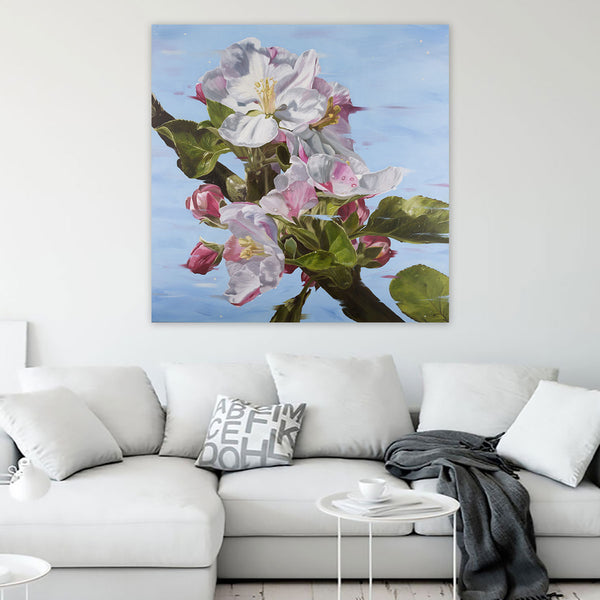 The Promise - Apple Blossom Canvas Print