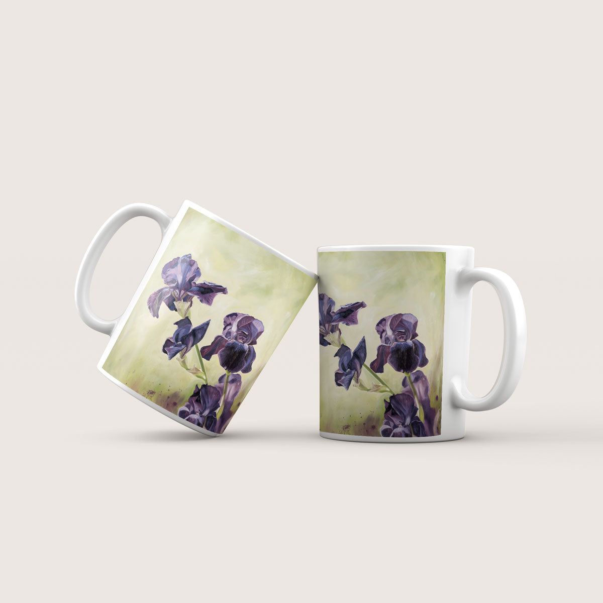 Verity - Irises Ceramic Mug