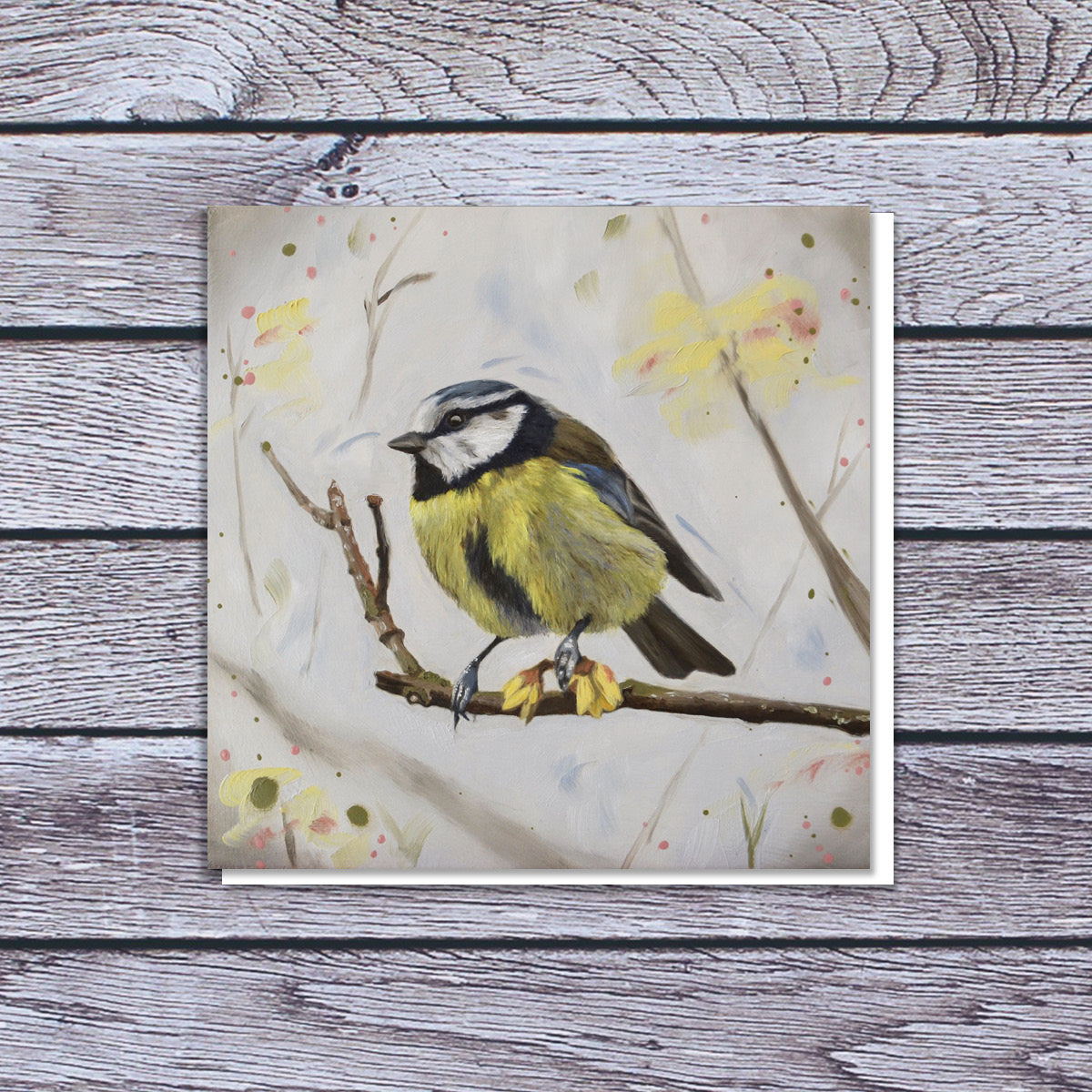 Winter sweet (blue tit) card