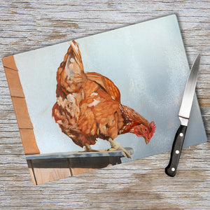 Don't Chicken Out Chopping Board
