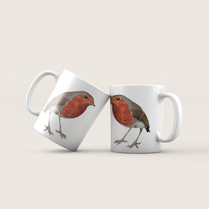 Robin - 'Curious' Ceramic Mug