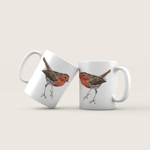 Robin - 'On The Move' Ceramic Mug