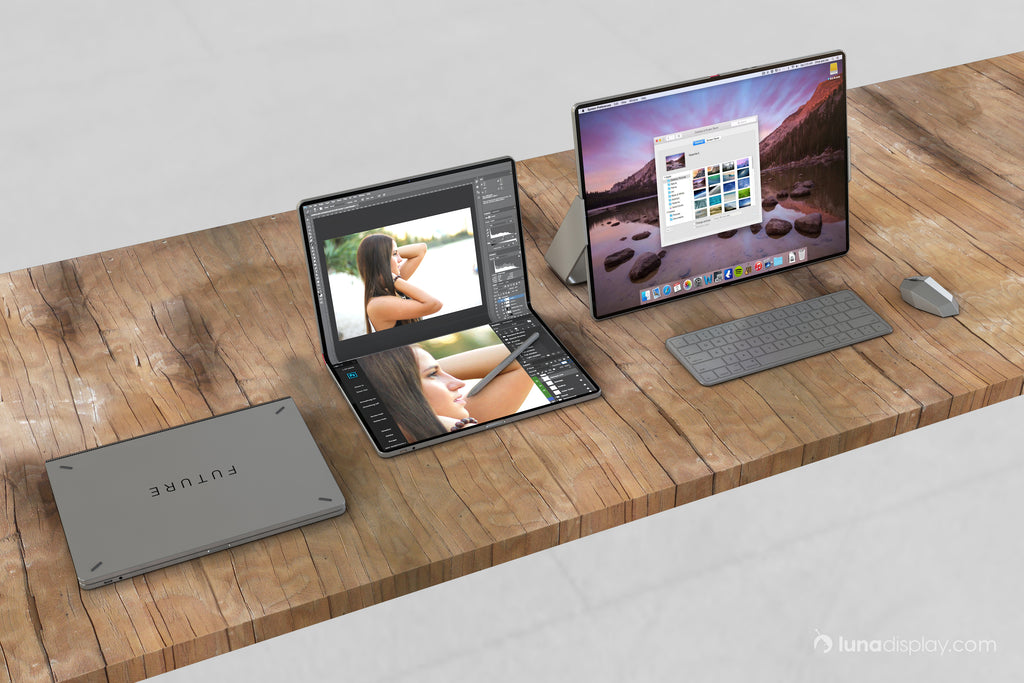 Mac foldable screen concept design lineup