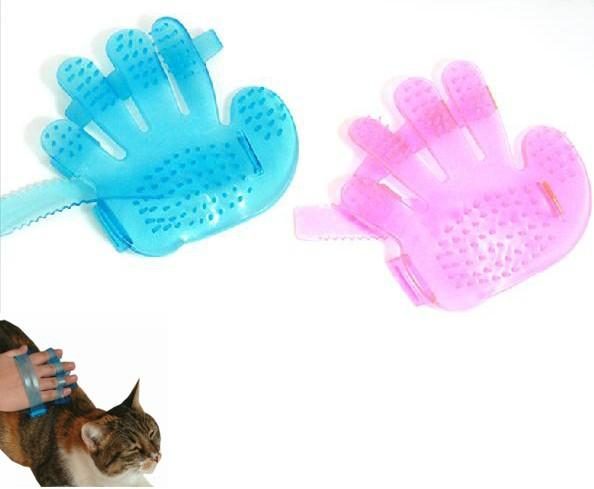 Pet Healthcare Bath Massage Glove Brush