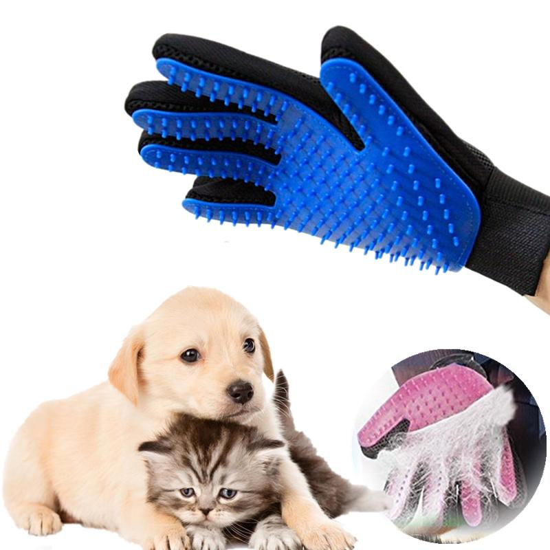 Pet Brush Glove Deshedding Pet Grooming