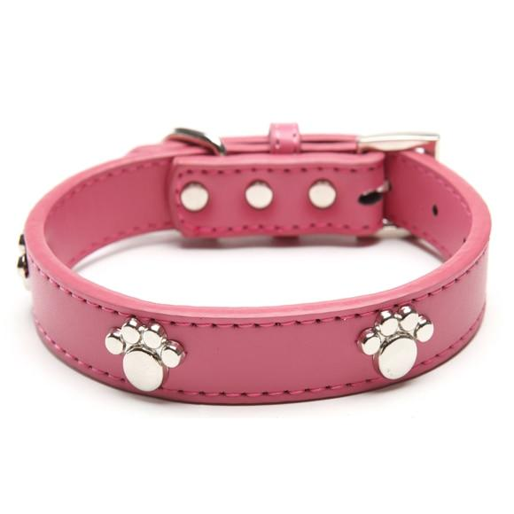 Paw Cut Puppy Collars Adjustable Necklace