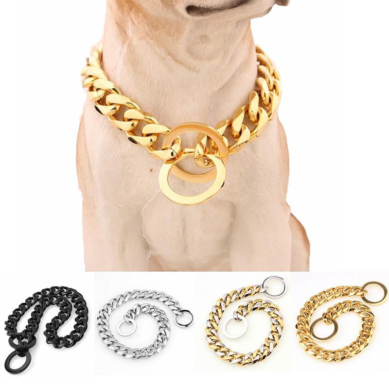 Dog Collar Training Choke Slip Chain Collars