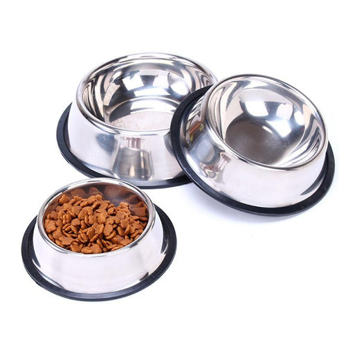 Stainless Steel Bowl Pet Bowl Dry Food
