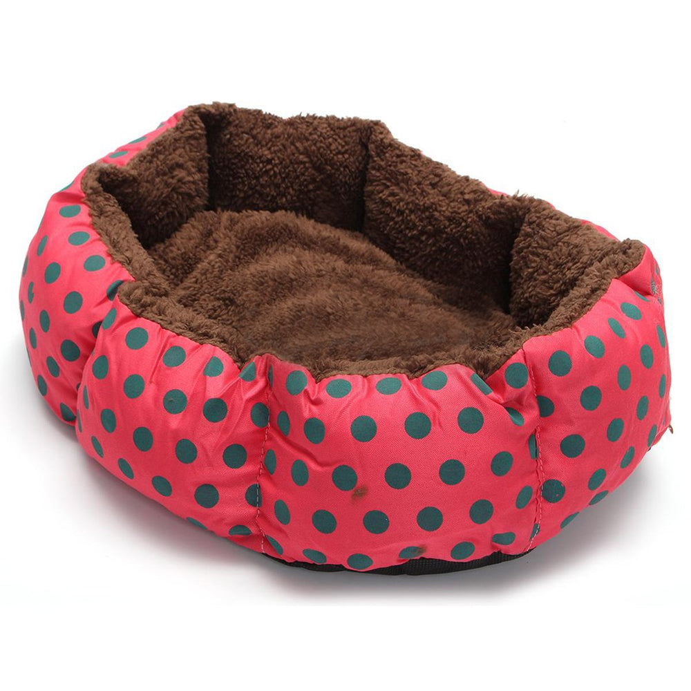 Washable Winter Gift Dog Lounger Bed