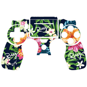 Controller Skin - Floral PS4