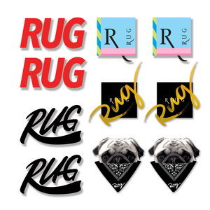 Sticker Pack - Rug Bold