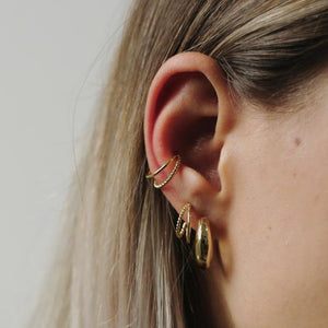 Rope Plain Ear Cuff