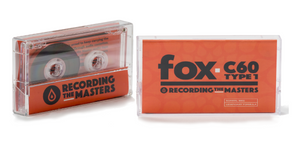 Recording The Masters FOX C60 Type 1 Audio Cassette Tape