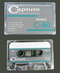Capture | C-60 Type I Audio Cassette Tape