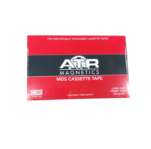 ATR Magnetics | Type I C-90 MDS Audio Cassette Tape