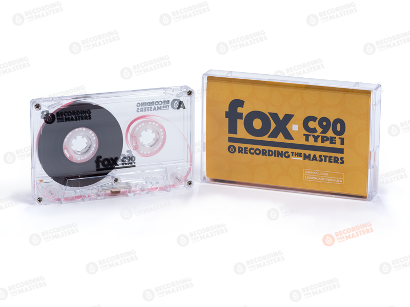 Pre-Order  | Recording The Masters | FOX C-90 Type I Audio Cassette Tape
